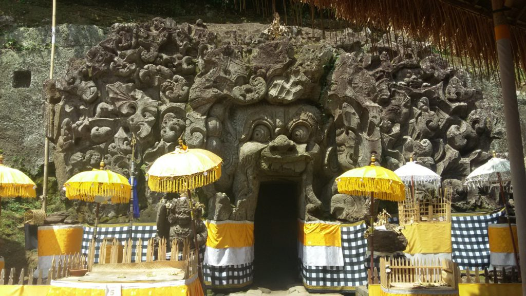 Goa Gajah en Bali